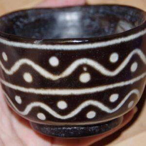 Тибетская каменная дзи-чаша