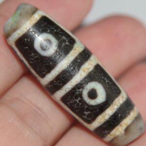 бусина дзи 4 глаза с ритуалом Зеленой Тары