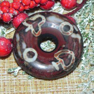Праздничный Счастливый дзи-пончик